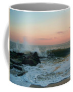 Waves At The Point West Cape May Nj Coffee Mug