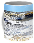 Waves At Tybee Coffee Mug