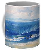 Waves At West Cape May Nj Coffee Mug