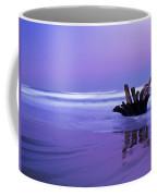 Waves Break On The Beach At Dawn Coffee Mug