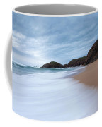 Waves Breaking At Murder Hole  County Coffee Mug