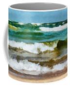 Waves Crash Coffee Mug