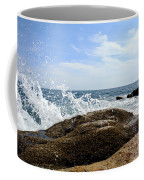 Waves Crashing Coffee Mug by Olivier Le Queinec