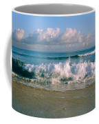 Waves Crashing On The Beach, Varadero Coffee Mug