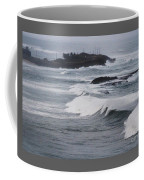 Powerful Waves Coming Ashore In San Juan # 1 Coffee Mug