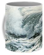 Waves In Stormy Ocean Coffee Mug
