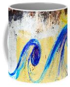 Waves On A Wall Coffee Mug