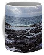 Waves Over  Rocks Coffee Mug