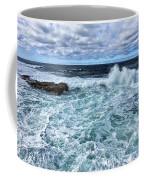 Waves To Rocks Coffee Mug