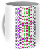 Wavy Stripe Coffee Mug by Louisa Hereford