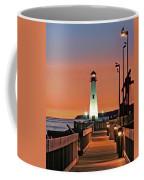 Wawatam Lighthouse Sunrise Coffee Mug