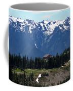 Way Up High - Hurricane Ridge - Washington Coffee Mug