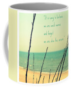 We Are Also The Ocean Coffee Mug by Poetry and Art
