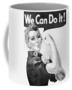 We Can Do It Coffee Mug by Dan Sproul