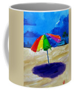 We Left The Umbrella Under The Storm Coffee Mug