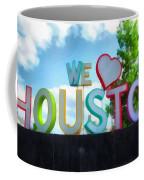 We Love Houston Texas Coffee Mug