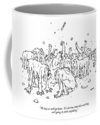 We May As Well Go Home.  It's Obvious That This Coffee Mug