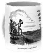 We Must Hurry Back!  The Casino Is On Fire! Coffee Mug