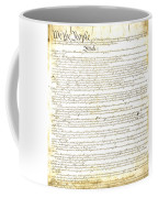 We The People Constitution Page 1 Coffee Mug