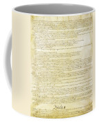 We The People Constitution Page 2 Coffee Mug