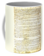 We The People Constitution Page 3 Coffee Mug