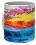 We Were Together I Forget The Rest - Quote By Walt Whitman Coffee Mug