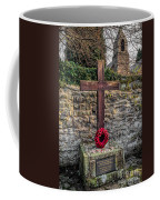 We Will Remember Coffee Mug by Adrian Evans