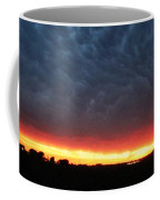 Weaking Cells Made For A Perfect Mammatus Sunset Coffee Mug