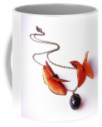 Wearable Art . Never Ending Love . One Of A Kind Necklace Coffee Mug