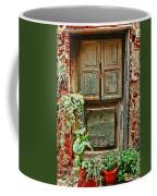 Weathered Door Coffee Mug