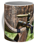 Weathered Tap And Barrel Coffee Mug by Paul Ward