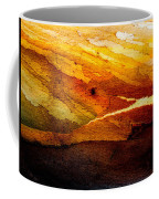 Weathered Wood Landscape Coffee Mug