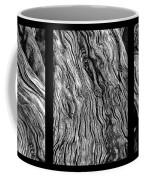Weathered Wood Triptych Bw Coffee Mug