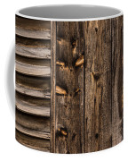 Weathered Wooden Abstracts - 3 Coffee Mug