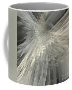 Weaving White And Gray Coffee Mug