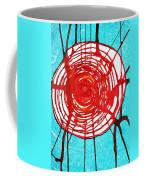 Web Of Life Original Painting Coffee Mug