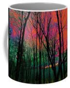 Webbs Woods Sunset Coffee Mug