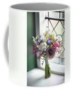 Wedding Bouquet Near A Window Coffee Mug