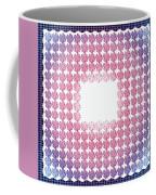 Wedding Guest Book Shamrock Shapes 3 Coffee Mug