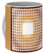Wedding Guest Signature Book Shamrock Shapes Coffee Mug