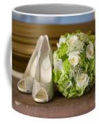 Wedding Shoes And Flowers Bouquet Coffee Mug