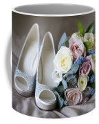 Wedding Shoes And Flowers Coffee Mug