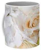 Wedding White Flowers Coffee Mug