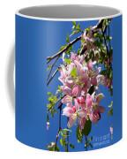 Weeping Cherry Tree Blossoms Coffee Mug