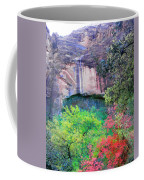 Weeping Rock At Zion National Park Coffee Mug