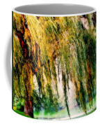 Weeping Willow Tree Painterly Monet Impressionist Dreams Coffee Mug