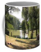 Weeping Willows In Central Park  Coffee Mug