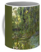Weeping Willows The Waterlily Pond At Giverny Coffee Mug by Claude Monet
