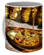 Weighing Gold Coffee Mug
