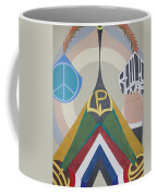 Weighing Peace Coffee Mug